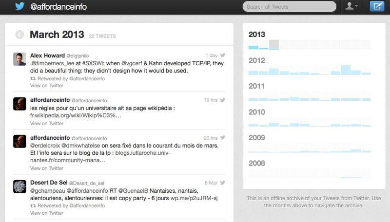 Tweet-archive