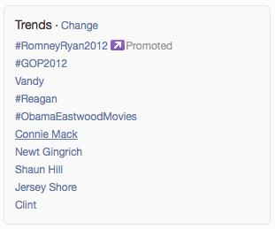 RomneyTrendingTwitter
