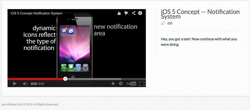 Notification-design
