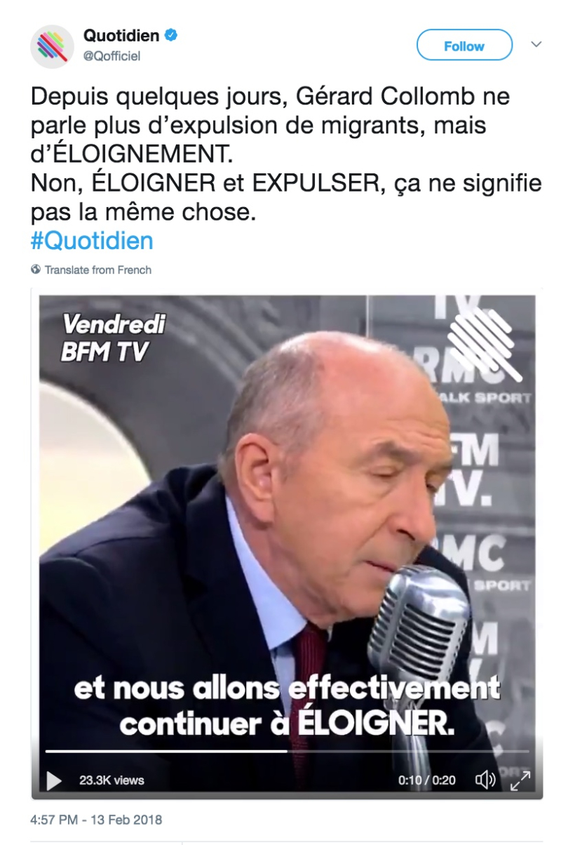 Eloigner