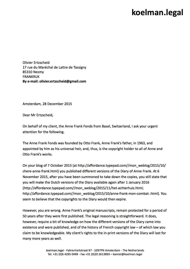 Letter Ertzscheid 28 12 15