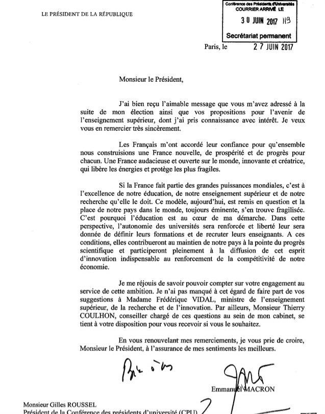 Macron-lettre-esr