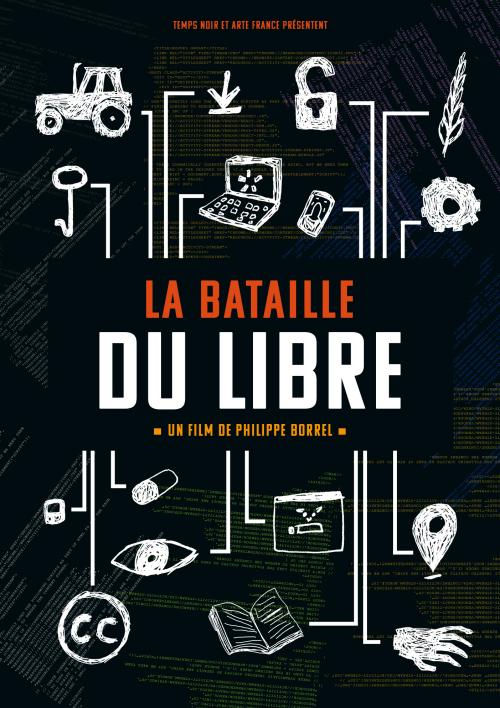 Affiche - La bataille du Libre - noir