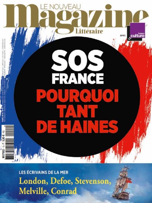 NouveauMagazineLitteraire_07952_15_1903_1903_180228_SOSFranceHaines_Couverture